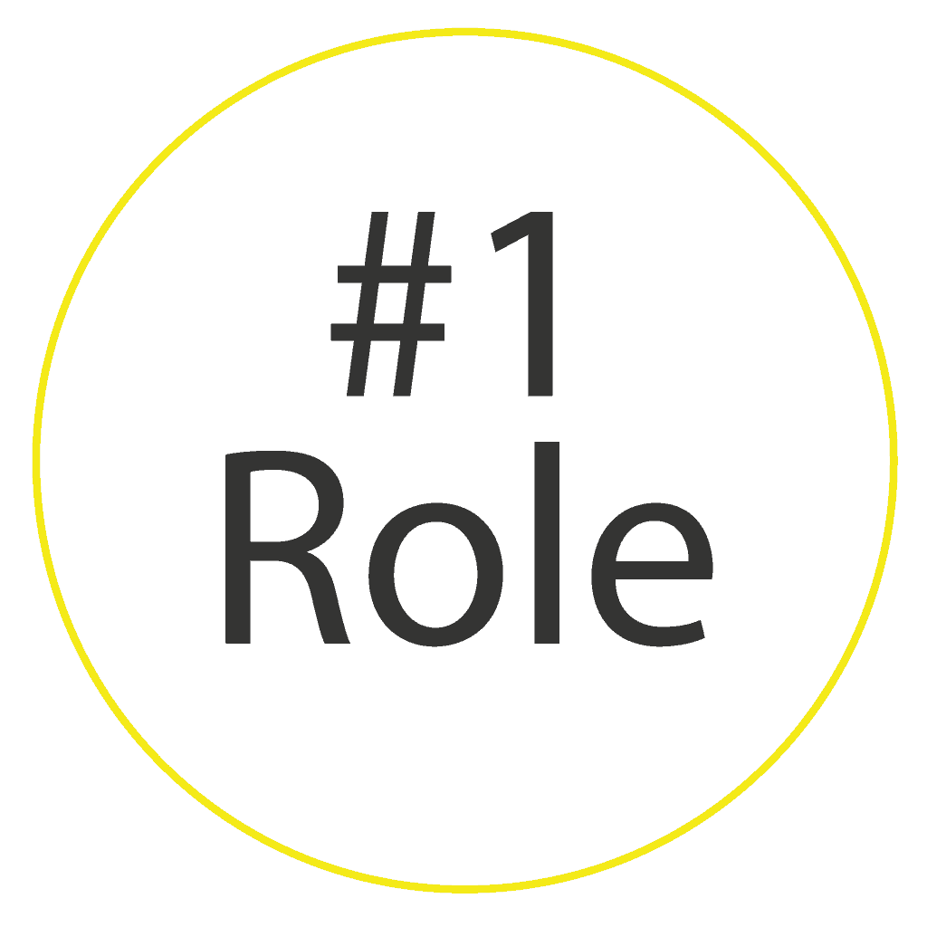 Role is one of the three dimensions we use in our buyer persona example
