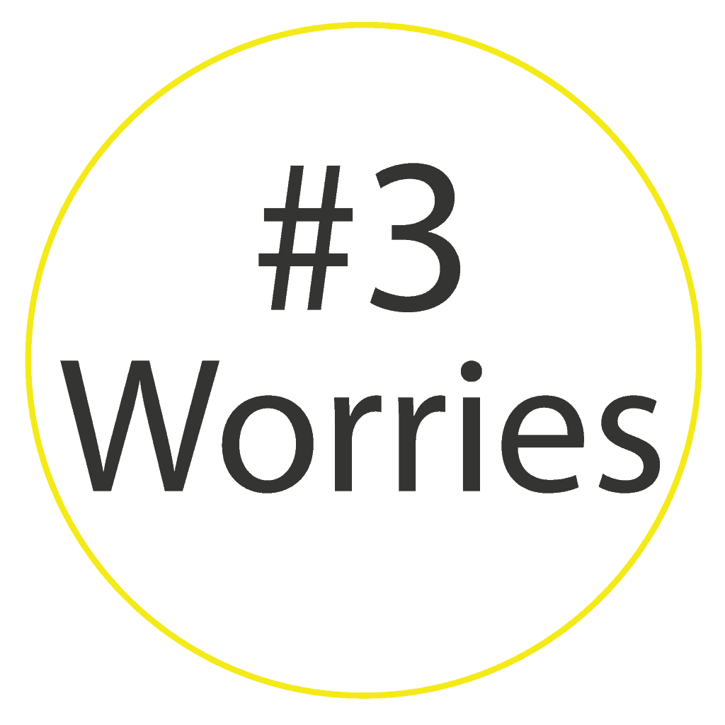 Worries are one of the three dimensions we use in our buyer persona example