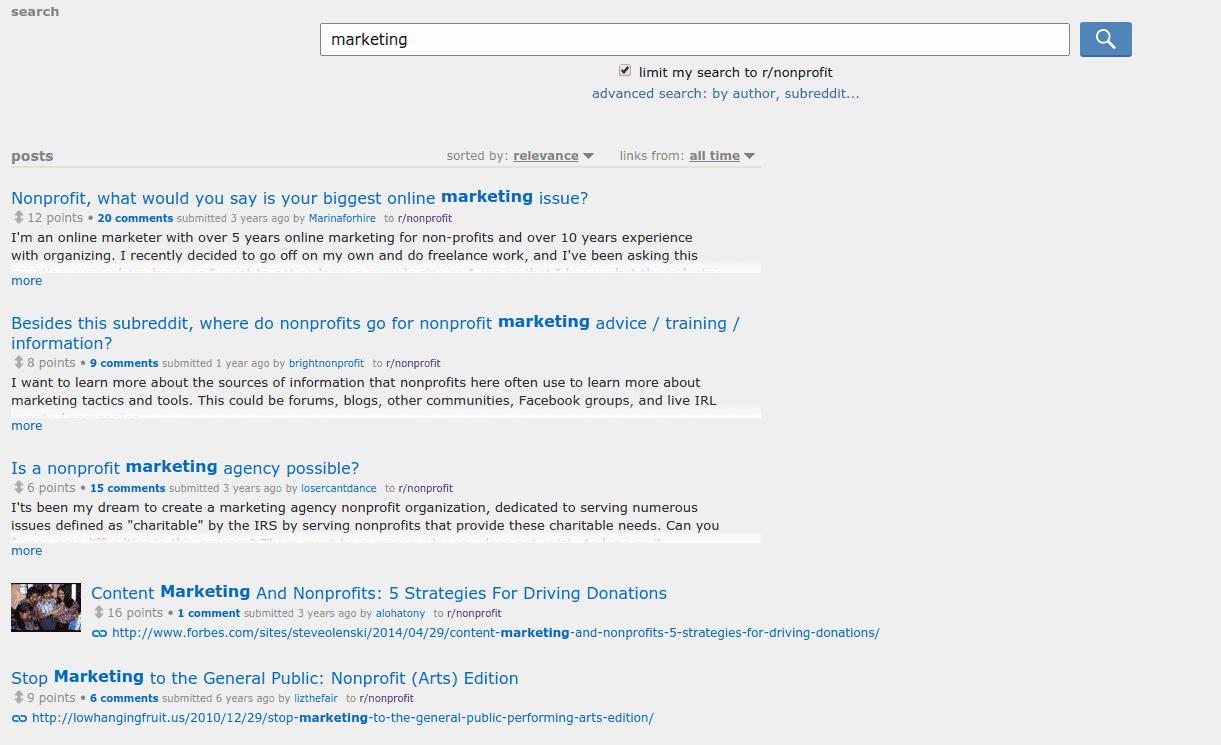 reddit-search